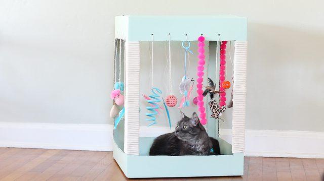Mobili Per Gatti Fai Da Te : Idee fantastiche per una casa a prova di gatto animalovers