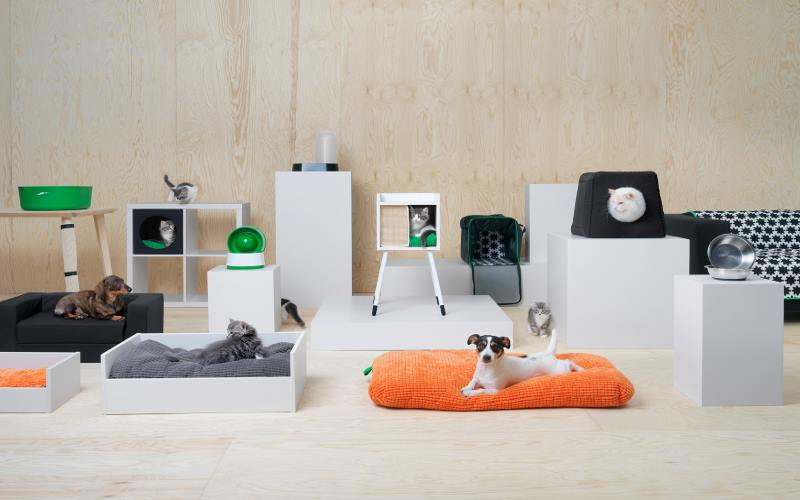 Divano Rosa Ikea : Arredamento lurvig la linea ikea per gli animali tra comodità e